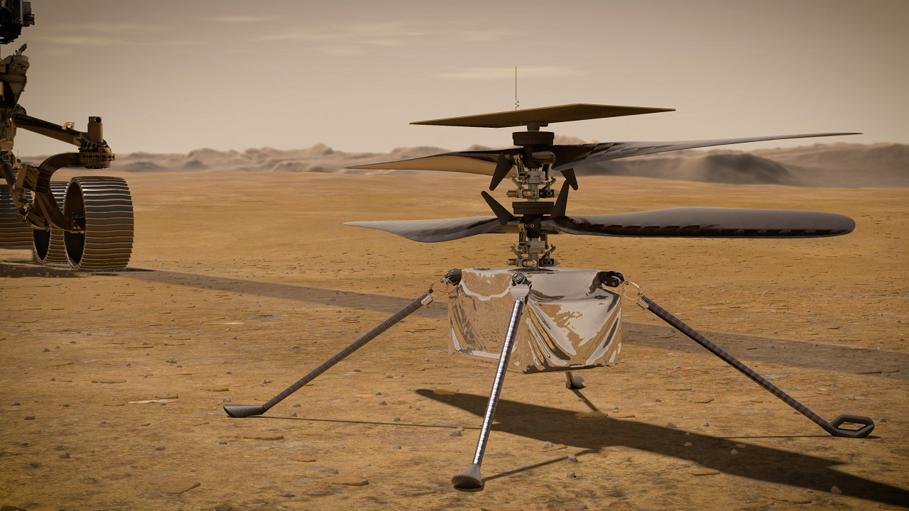 First flight for NASA Mars helicopter, Ingenuity, gets official date